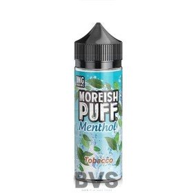 MENTHOL TOBACCO 100ML SHORT FILL by MOREISH PUFF