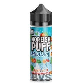 APRICOT WATERMELON 100ML SHORT FILL by MOREISH PUFF