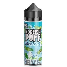 MENTHOL KIWI 100ML SHORT FILL by MOREISH PUFF