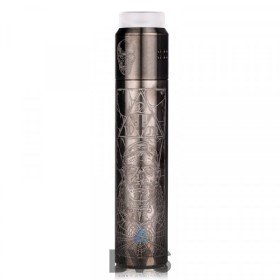 V4 Bogan Edition Mech Vape Kit By Deathwish Modz Gunmetal