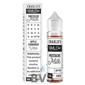Mustache Milk 50ml Shortfill by Charlies Chalk Dust