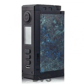 Top Gear DNA250c Vape Mod by Dovpo Blue Carbon