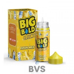Banana Milk 100ml Shortfill by Big Bold Creamy