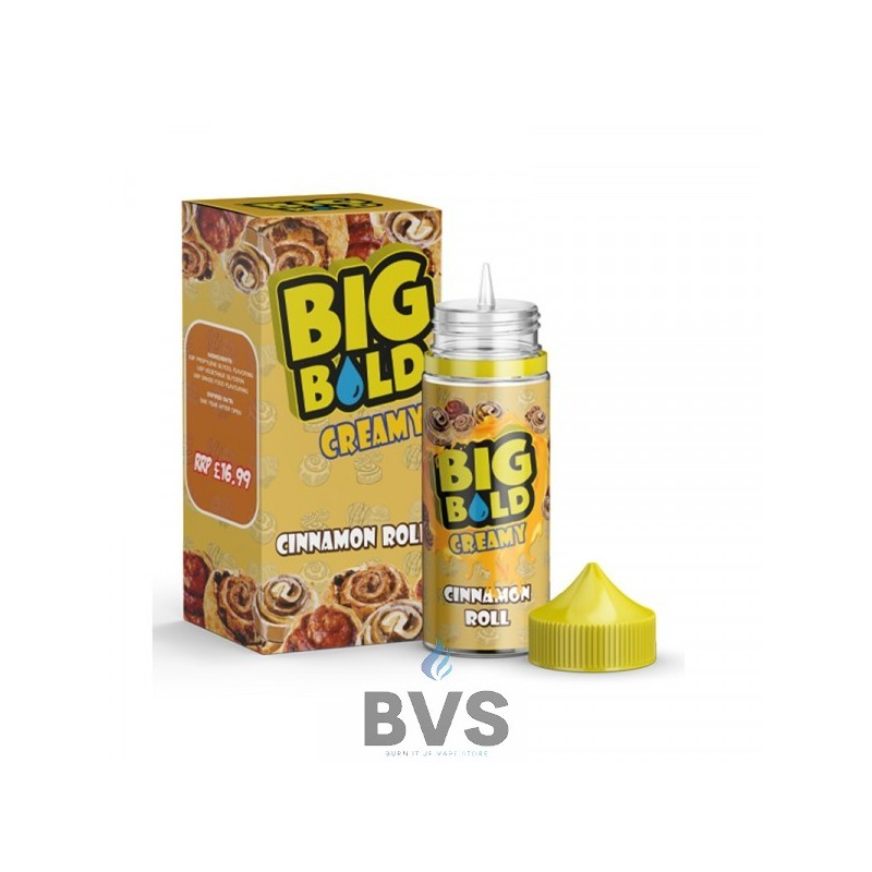 Cinnamon Roll 100ml Shortfill by Big Bold Creamy