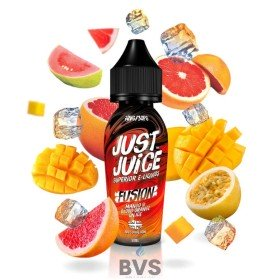 Mango Blood Orange Fusion On Ice 50ml Shortfill by Just Juice 10ml
