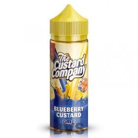 Blueberry Custard 100ml Shortfill by The Custard Company