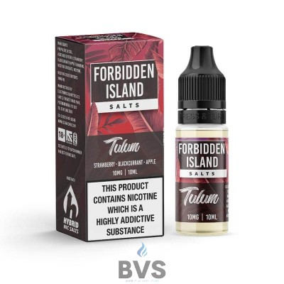 Tulum Hybrid Nic Salt by Forbidden Island