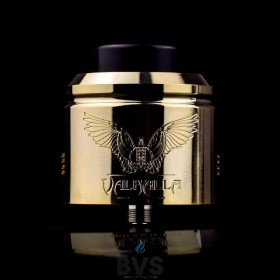 Vaperz Cloud Valhalla Dual Coil RDA 38mm 2019 Revised Edition
