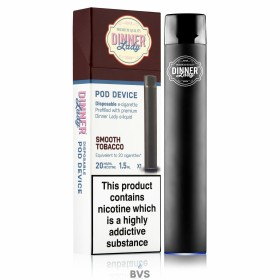 DINNER LADY DISPOSABLE POD - Smooth Tobacco