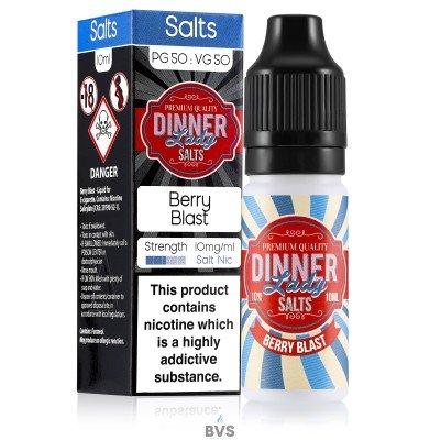 BERRY BLAST NIC SALT E-LIQUID BY DINNER LADY
