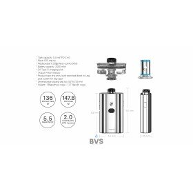 ASPIRE CLOUDFLASK POD VAPE KIT - NOW IN !