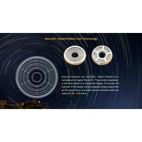 New ARC (Aspire Radial Coil) Technology  Revvo & Revvo Boost
