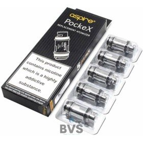 Aspire PockeX Pocket Coils (Pack of 5)