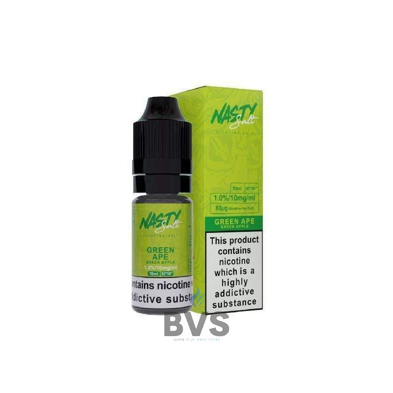 GREEN APE NIC SALT ELIQUID by NASTY SALTS