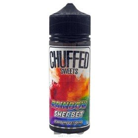 RAINBOW SHERBET 100ML SHORTFILL by CHUFFED SWEETS ELIQUID