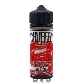 STRAWBERRY LACES 100ML SHORTFILL by CHUFFED SWEETS ELIQUID