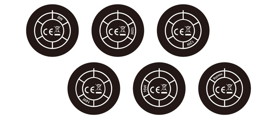 The Reax's unique wattage dial lets you pick your ideal power output level