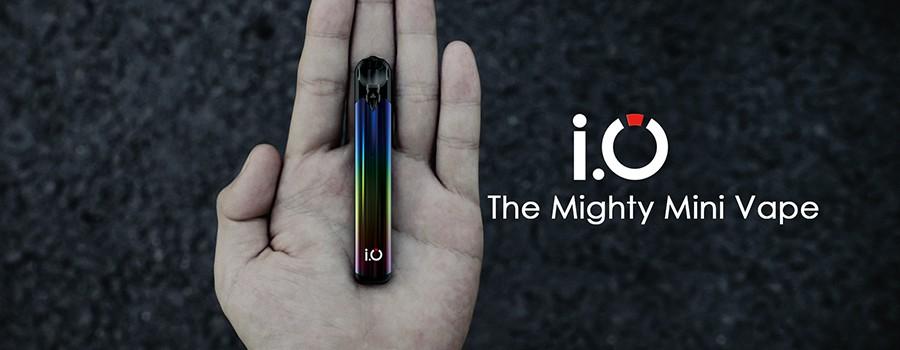 The Innokin I.O is a discreet, pocket-friendly kit.