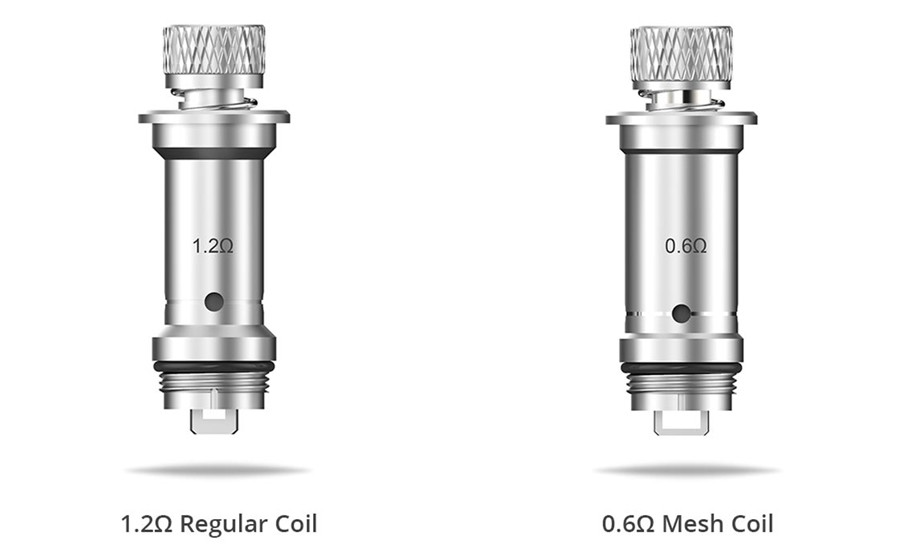 The Lyra replacement vape coils feature either 1.6 Ohm and 0.6 Ohm resistance