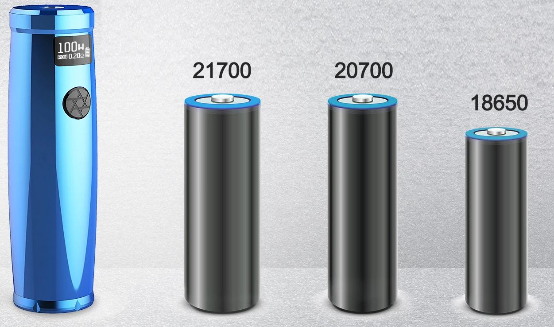 Uwell Nunchaku 2 batteries