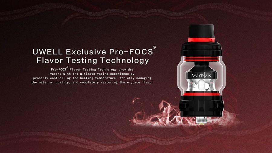 The Valyrian 2 tank features Pro-FOCS technology
