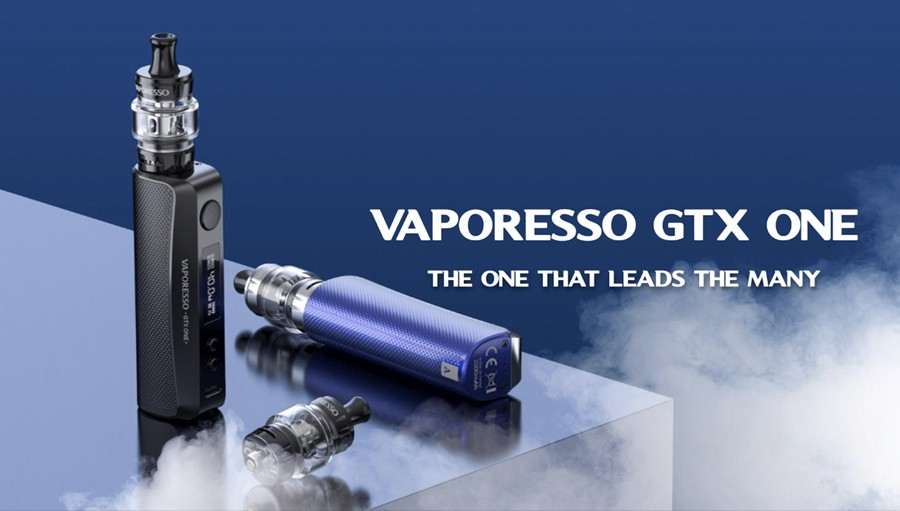 The Vaporesso GTX One kit is the ideal option for new vapers and first-time switchers