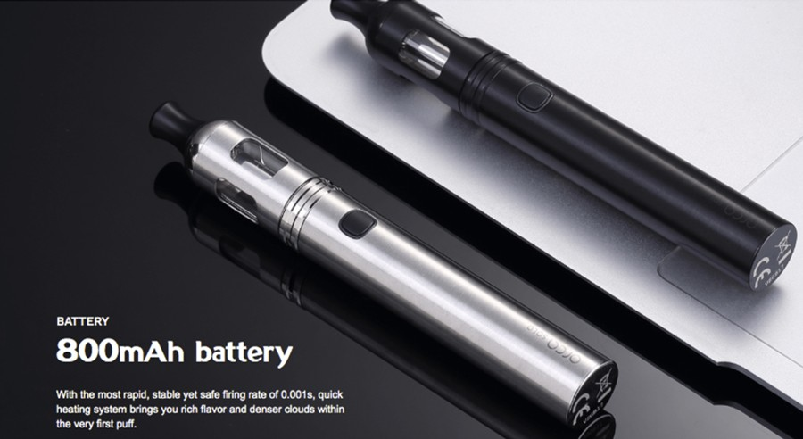 The Orca Solo features a large capacity 800mAh built-in battery with a 0.001s firing speed.
