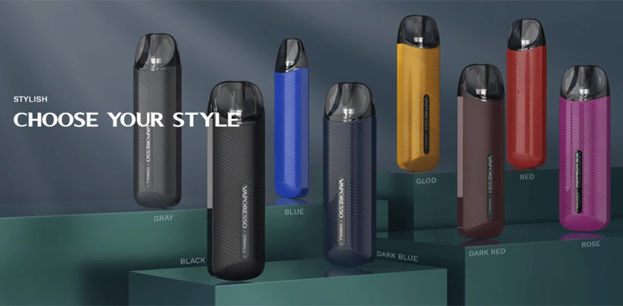 The Vaporesso Osmall pod kit is lightweight, discreet and simple to use.