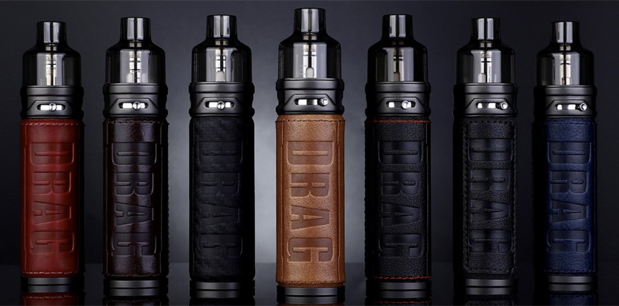 The VooPoo Drag S pod vape kit is a sub ohm kit that features a sleek design and a luxury feel.